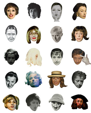 Cindy Sherman Emojis