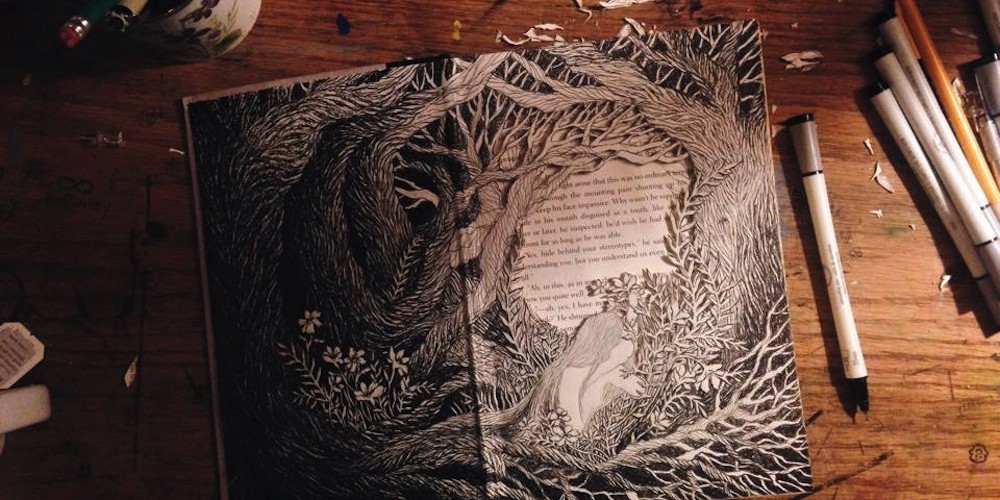 Isobelle Ouzman 3D Book Art