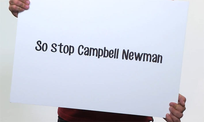Stop Campbell Newman