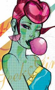bubble gum geekgirl