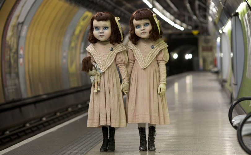 Victorian dolls creep out London