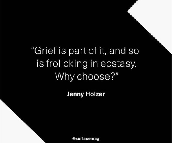 grief is part of it