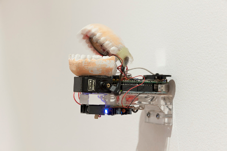 Anaisa Franco, Paranoia 2010, reactive sculpture, 15 x 11 x 20 cm, Image courtesy RMIT Gallery, Photography Mark Ashkanasy, © the artist